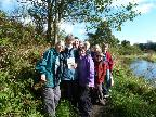 Group on the first walk October 2012