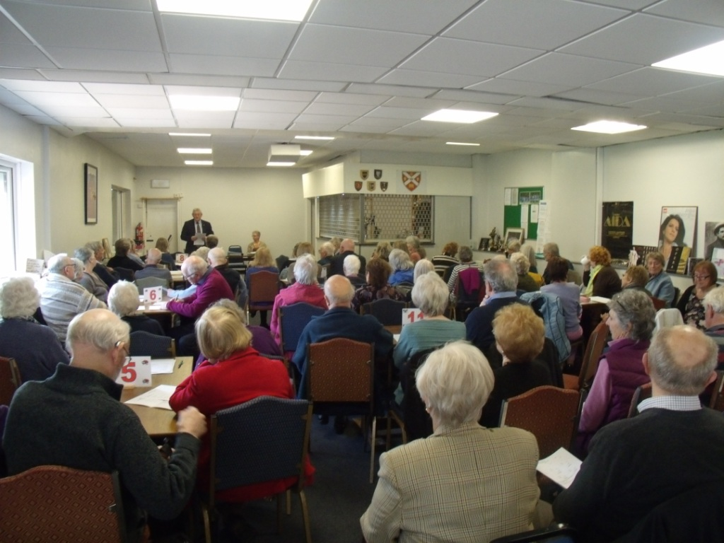 Abergavenny U3A AGM  March 29th 2019