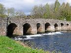 Abergavenny Medieval bridge over the Usk