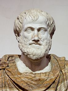 Copy of bust of Aristotle