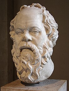 A bust of Socrates in the Louvre