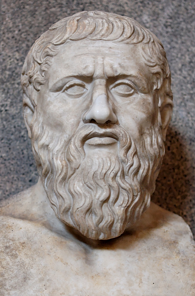 Bust of Plato in the Vatican Museum
