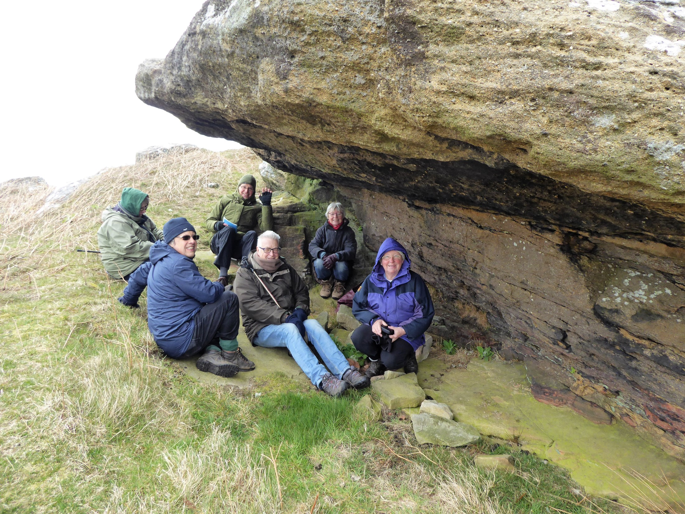 Mesolithic Rock Shelter, Alnwick Moor