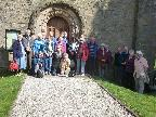 Members visit St Mary