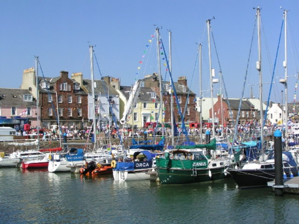 Arbroath Harbour and Marina