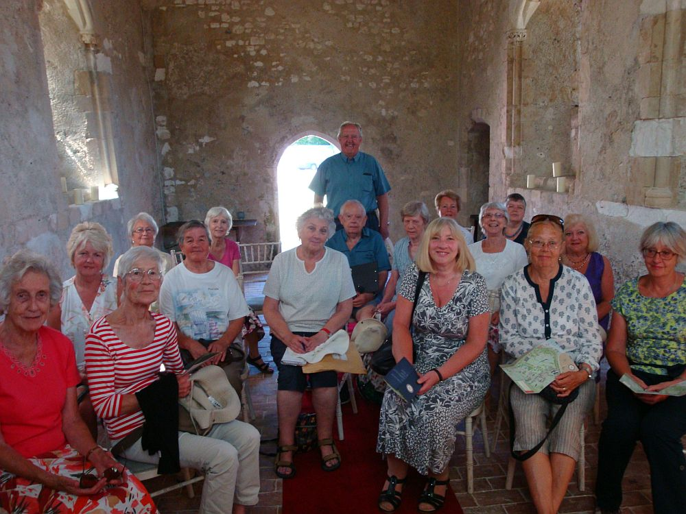 The group at Bailiffscourt