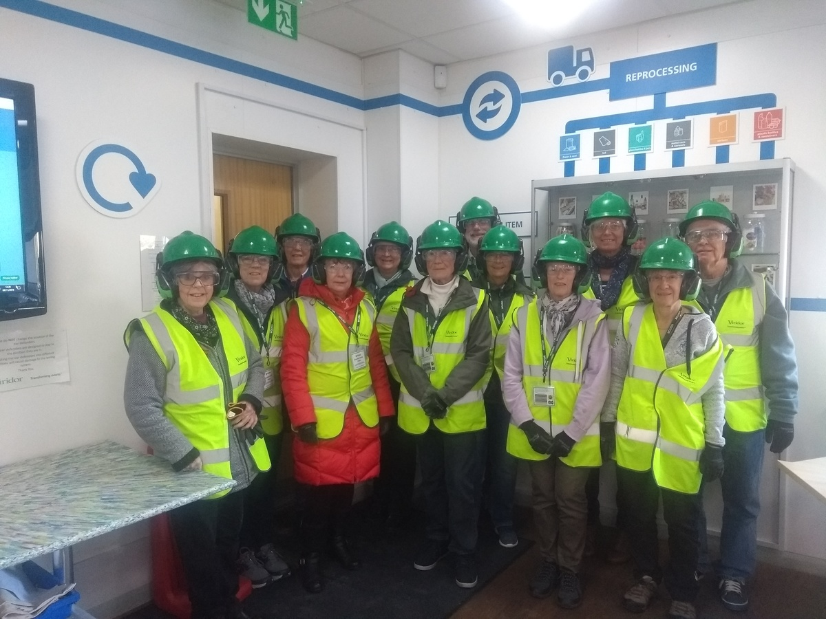 Visit to Recycling Plant
