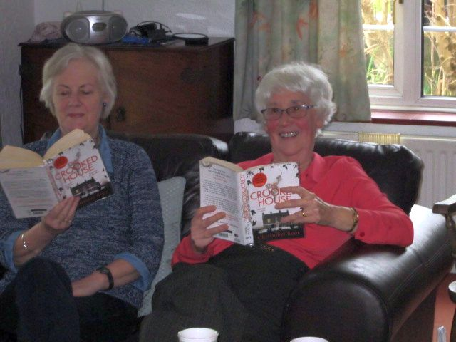Fun at the Wednesday Book Group