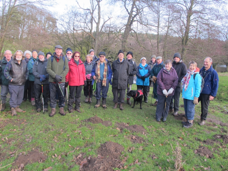 Osmaston 1st Walk in 2019