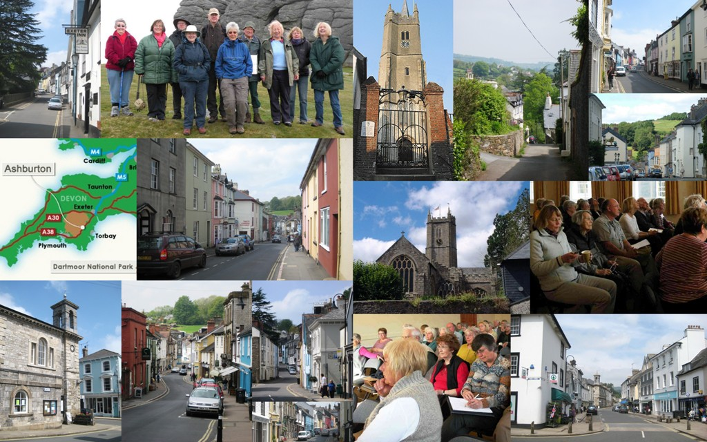 Ashburton U3A Collage