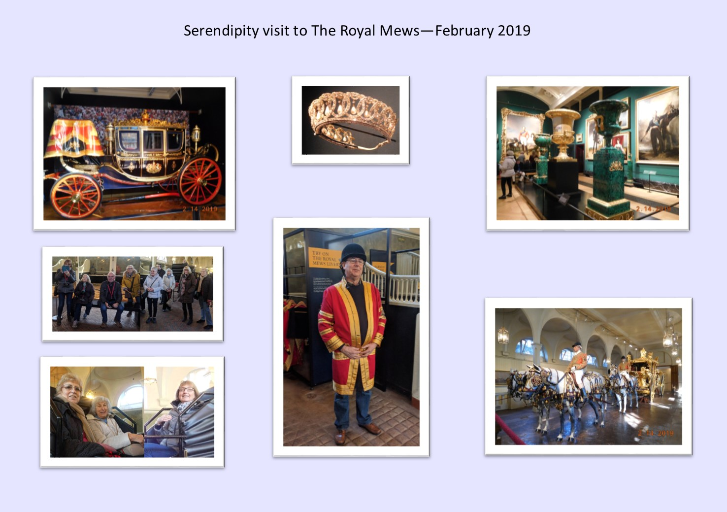 Serendipity at The Royal Mews Feb 2019