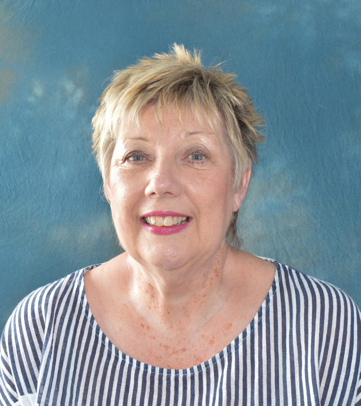 Sue McPhee - our chair from Jul 2019