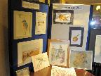 Display of members work at Open Event 20