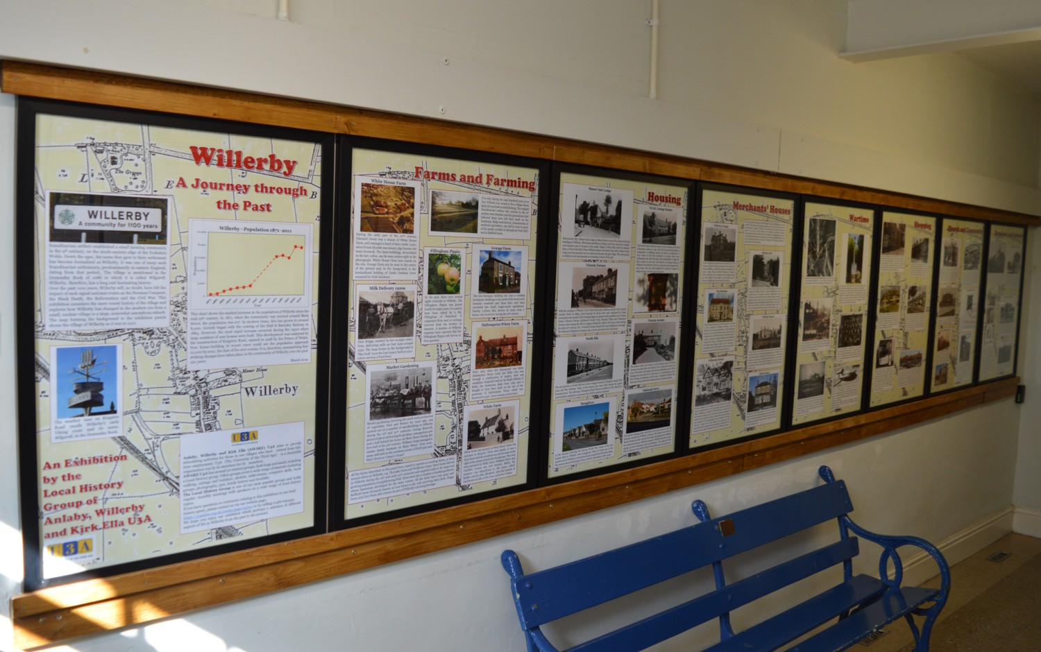 2019 Willerby History Boards