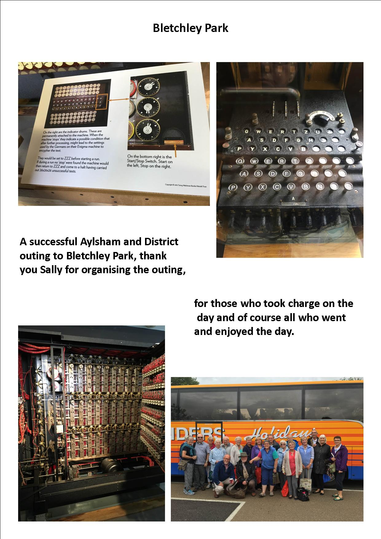 Bletchley Park Outing