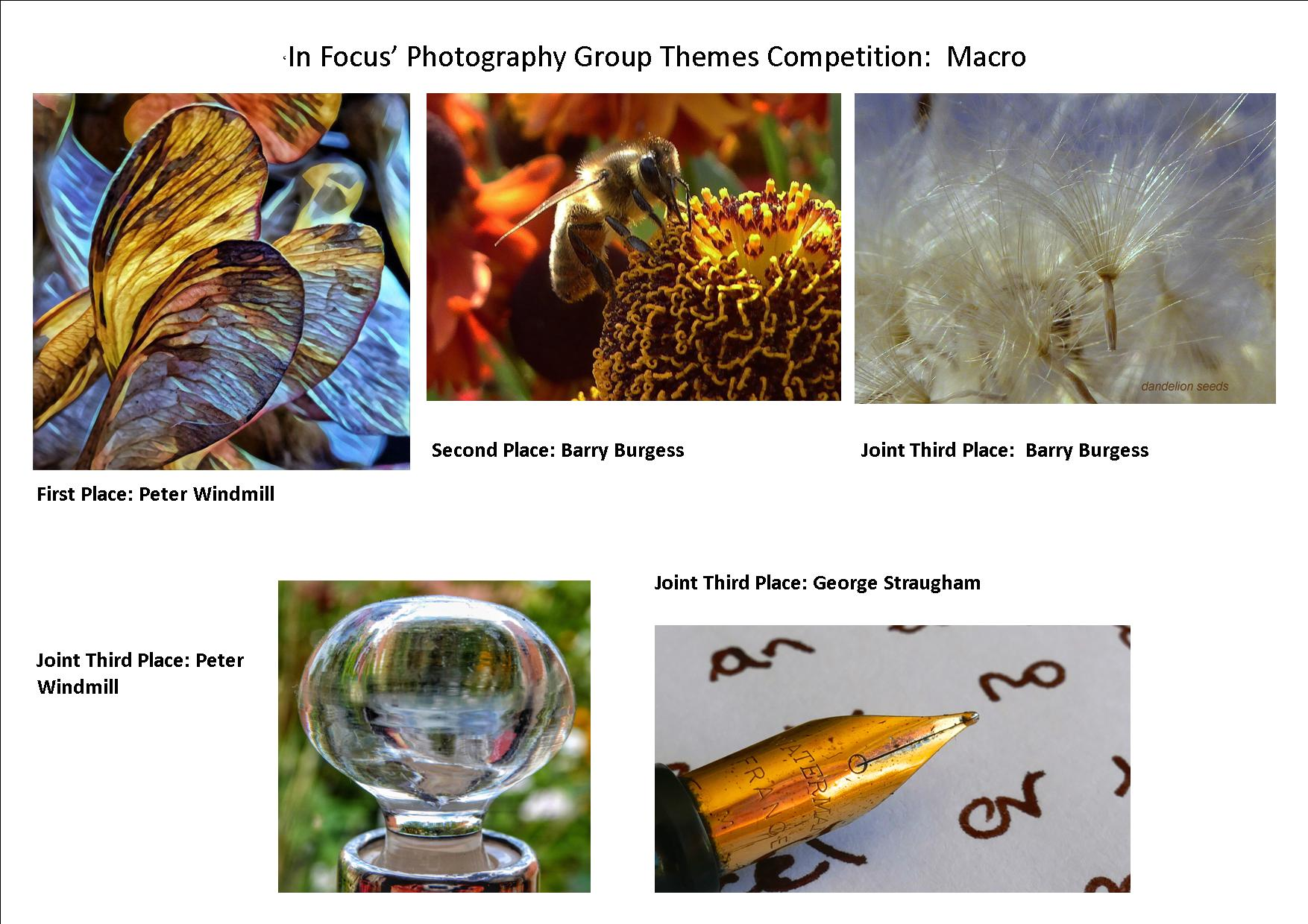 Macro Competition Results