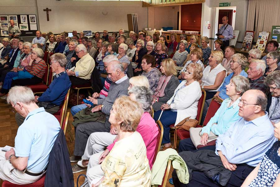 A good attendance at the AGM 2018