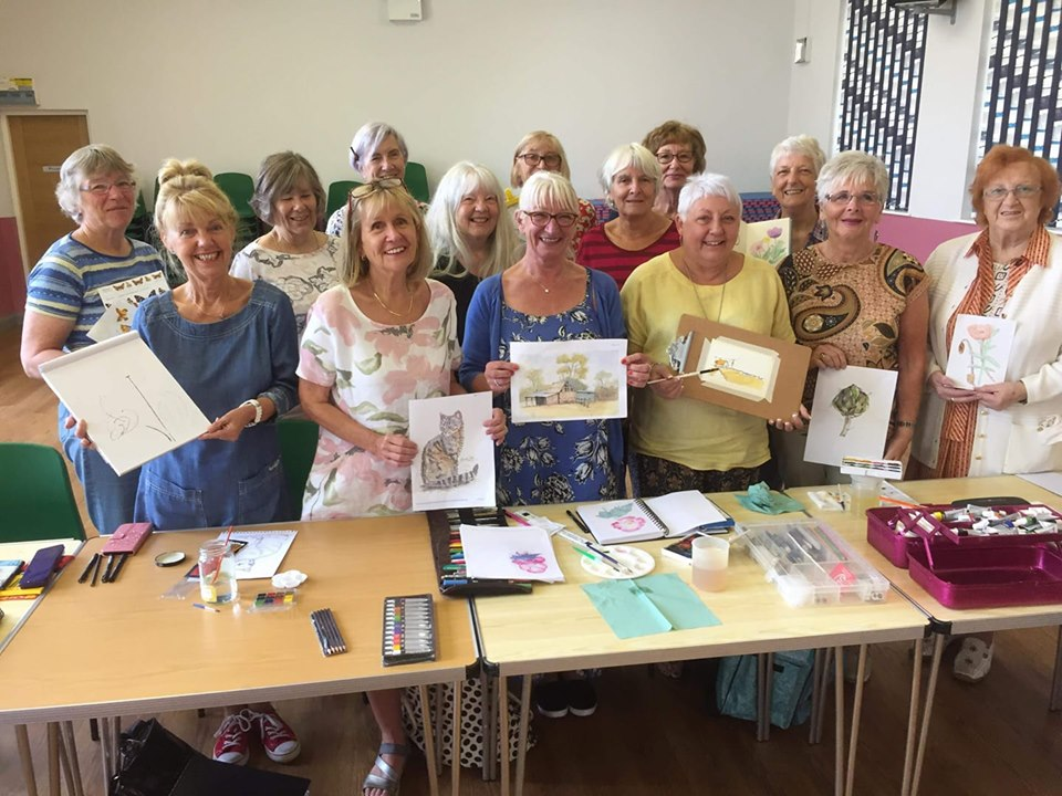 The Art for Beginners Group August 2019