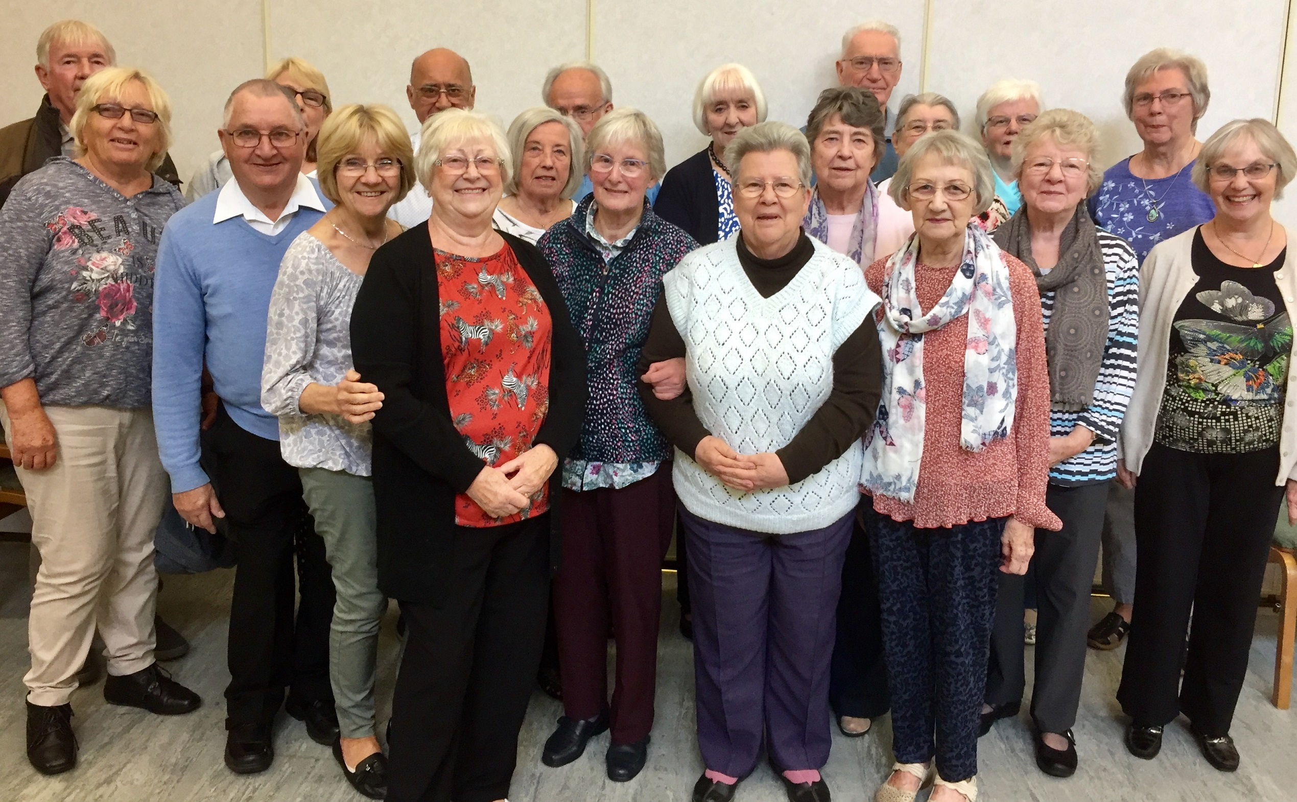 The Country Dancing Group August 2019
