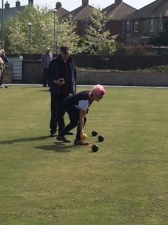 Crown Green Bowling at Penistone