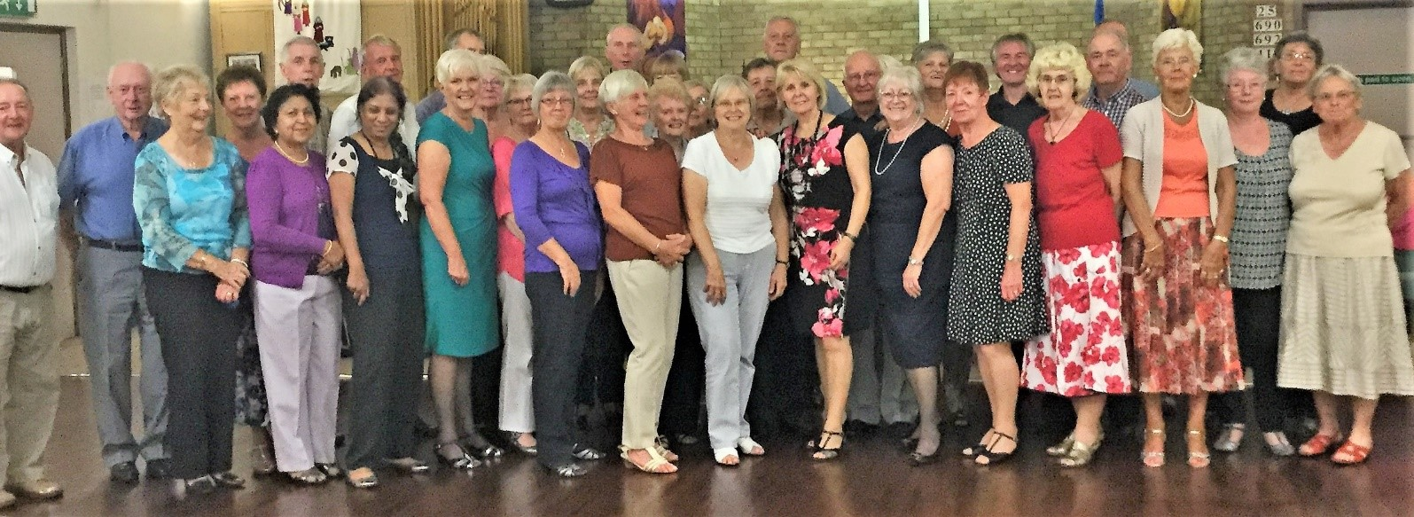 Our sequence dancing group August 2019
