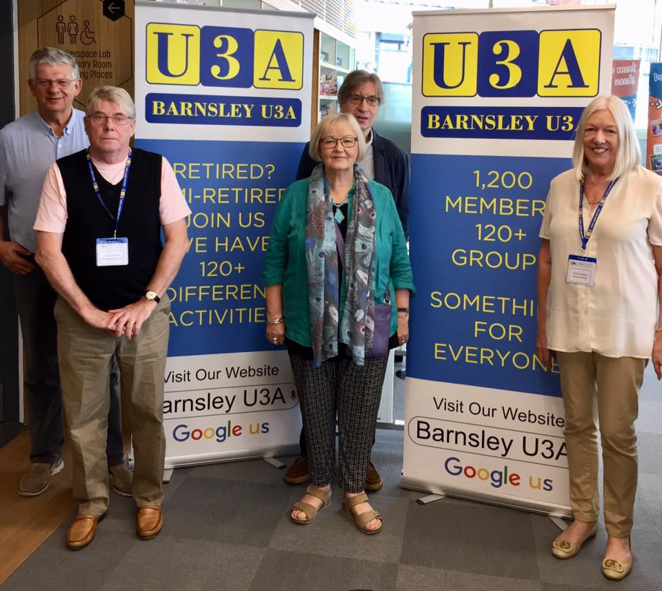 Barnsley U3A stand at the Lightbox