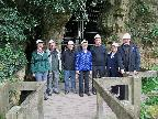 Group outside Ice Age Cave
