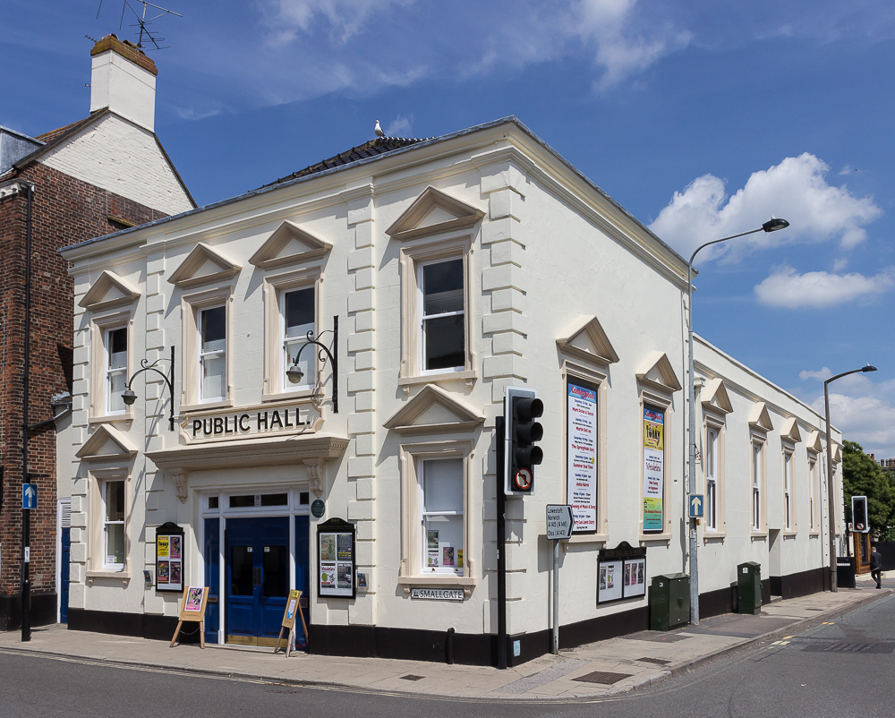 Beccles Public Hall, Smallgate, Beccles