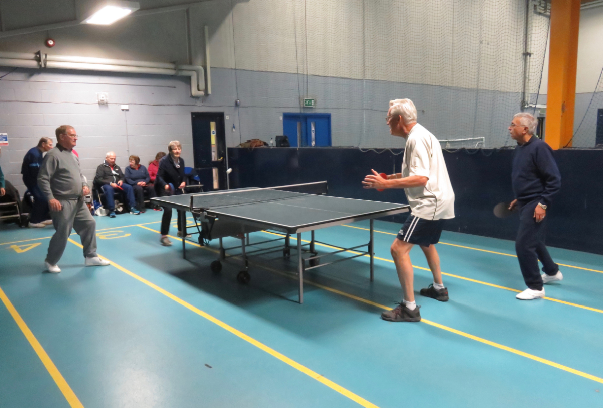 Table Tennis in Action