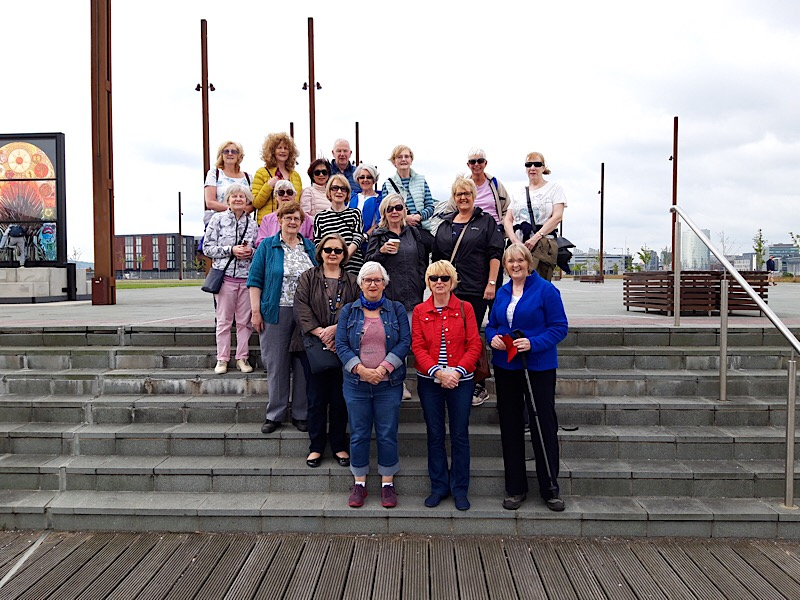 Amblers at the Titanic Quarter July 2019