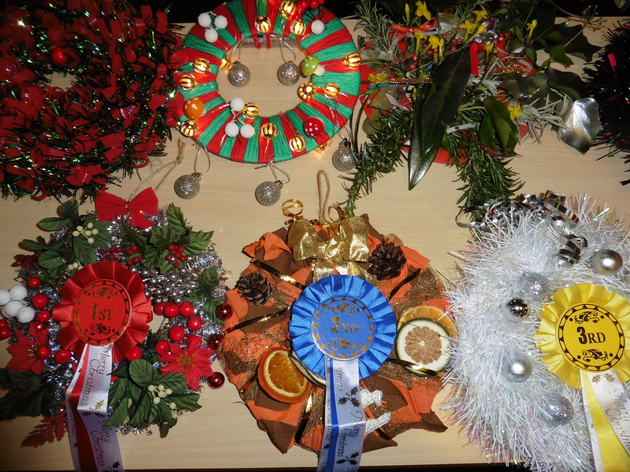 Christmas Wreath Competition