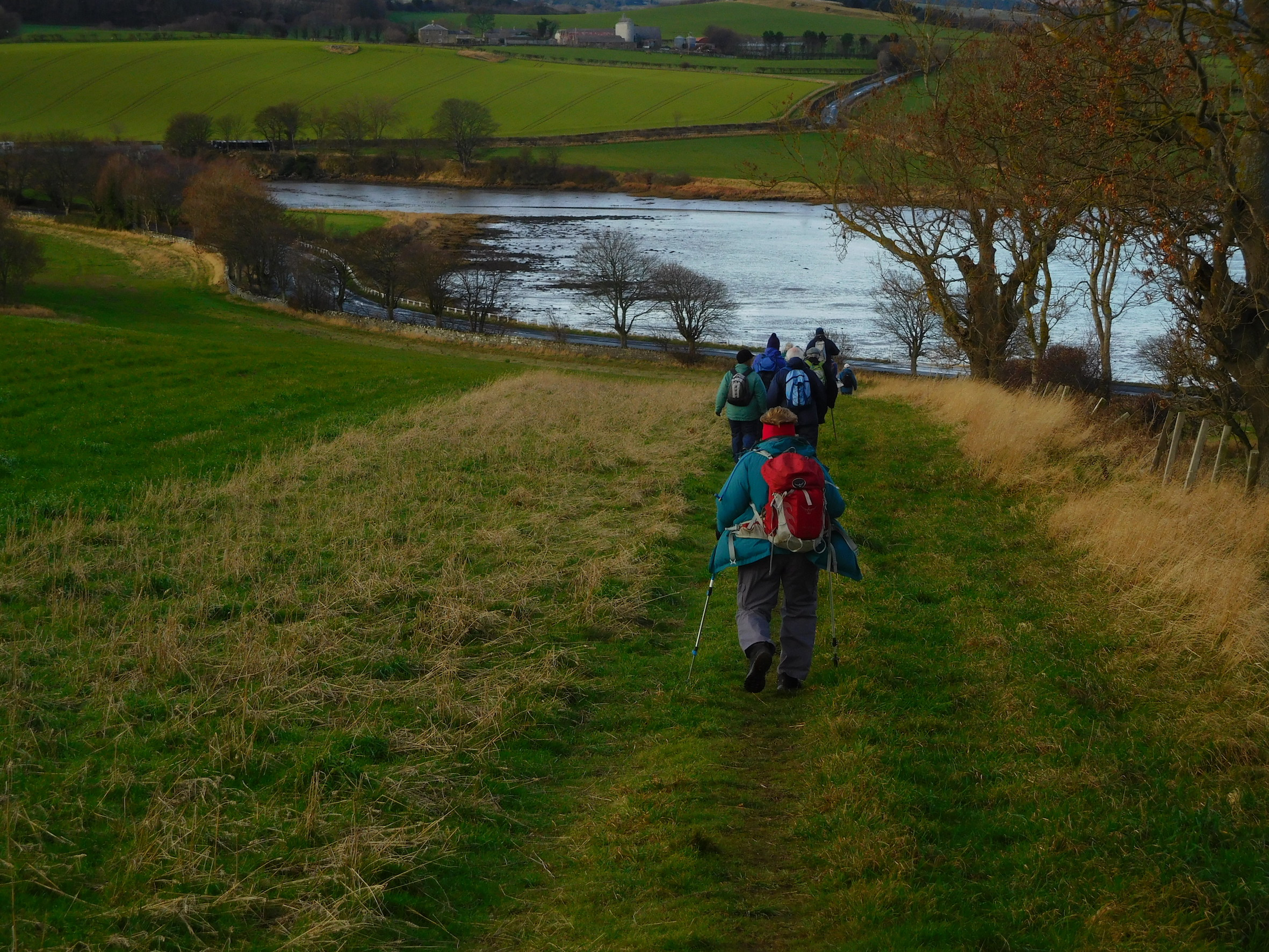 Heading to Budle Bay