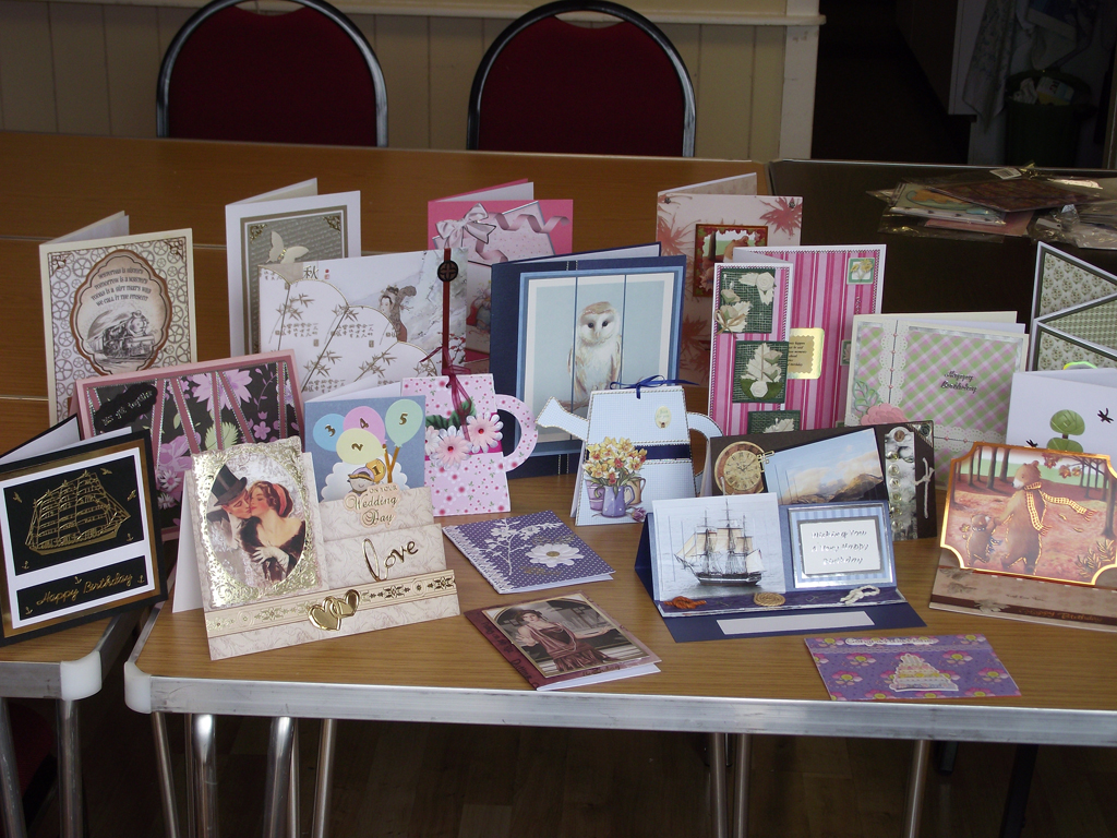 Cards on Show