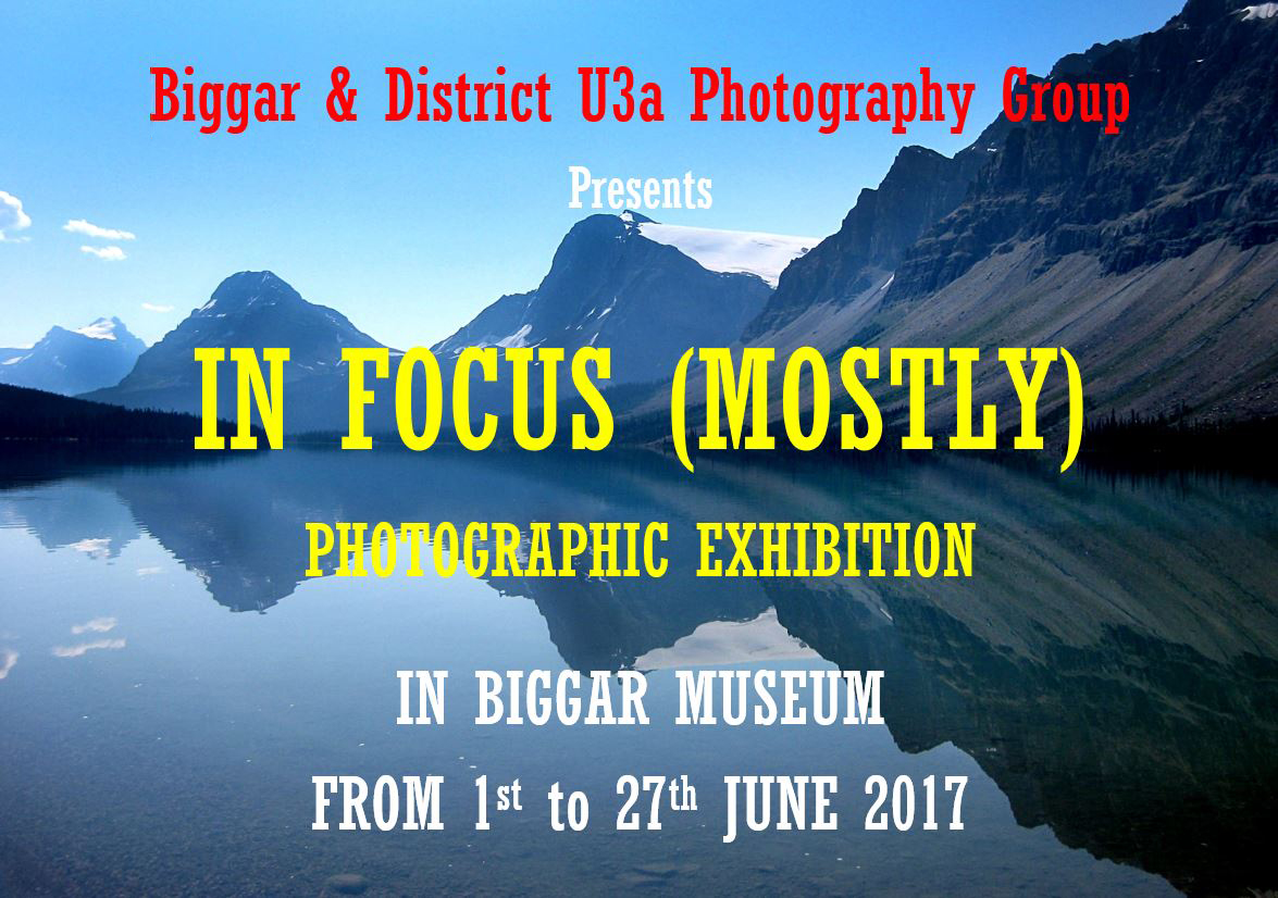 Poster for Exhibition Biggar Museum 2017
