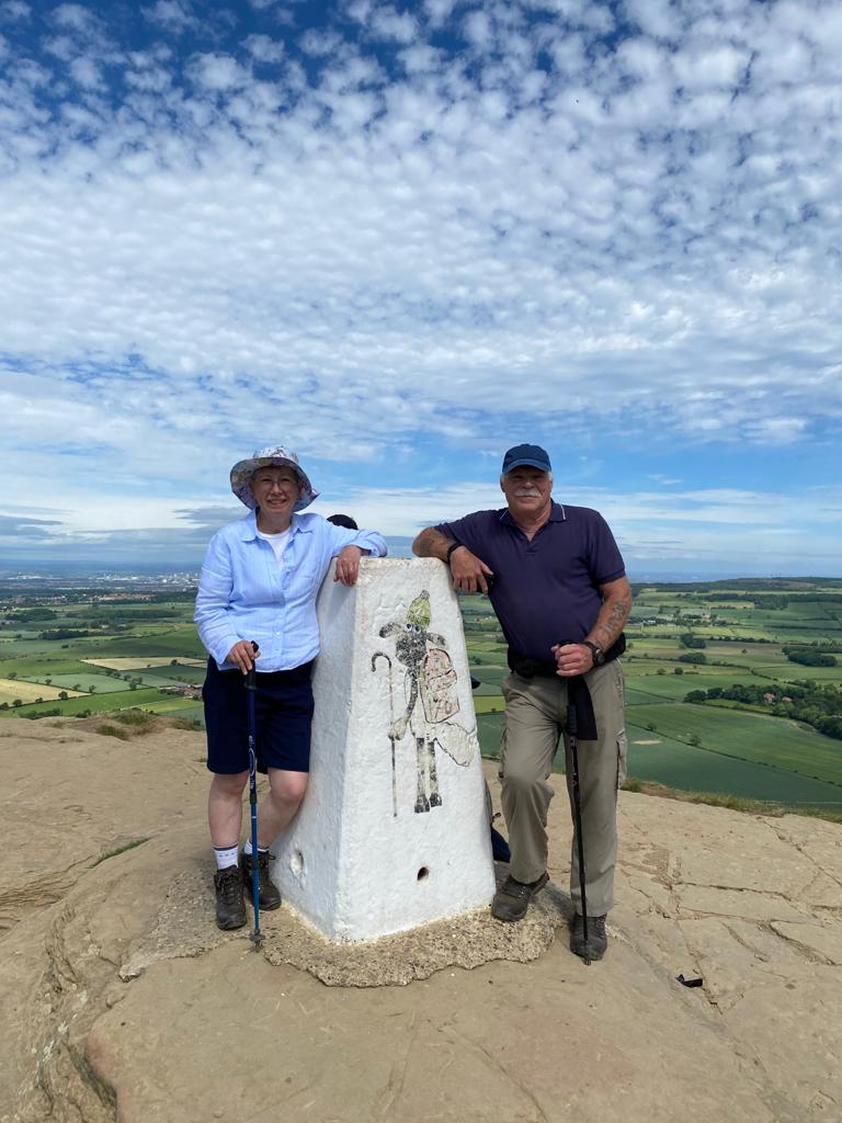 Final Farewell on Roseberry Topping