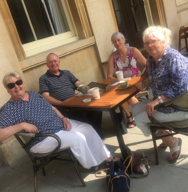Coffee & chat group, 24th July