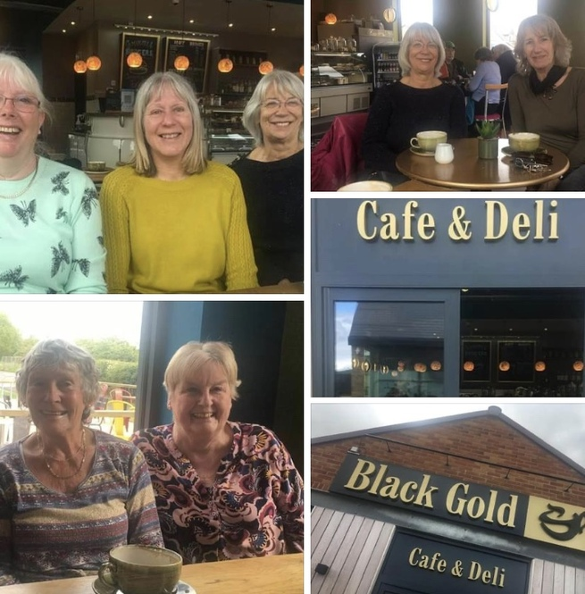 Coffee & chat group at Black Gold 24 May