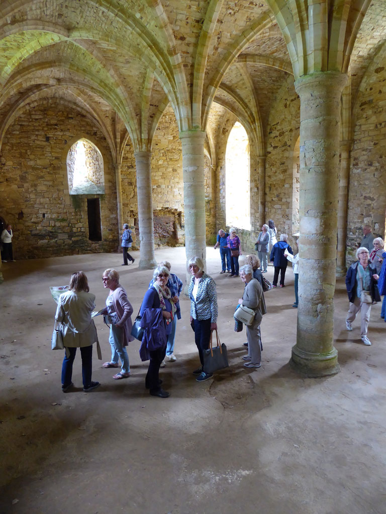Inside of Abbey