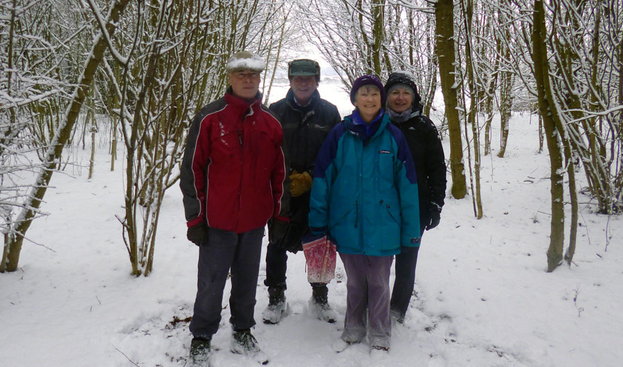 Intrepid Walkers Feb. 2018