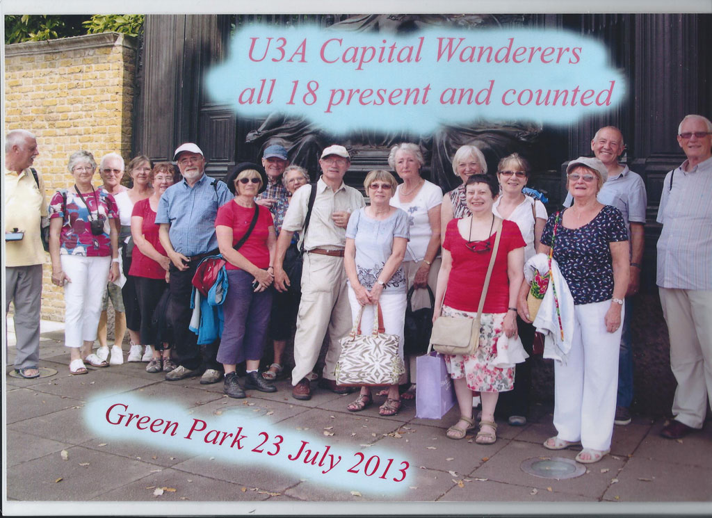 Capital Wanderers July 2013