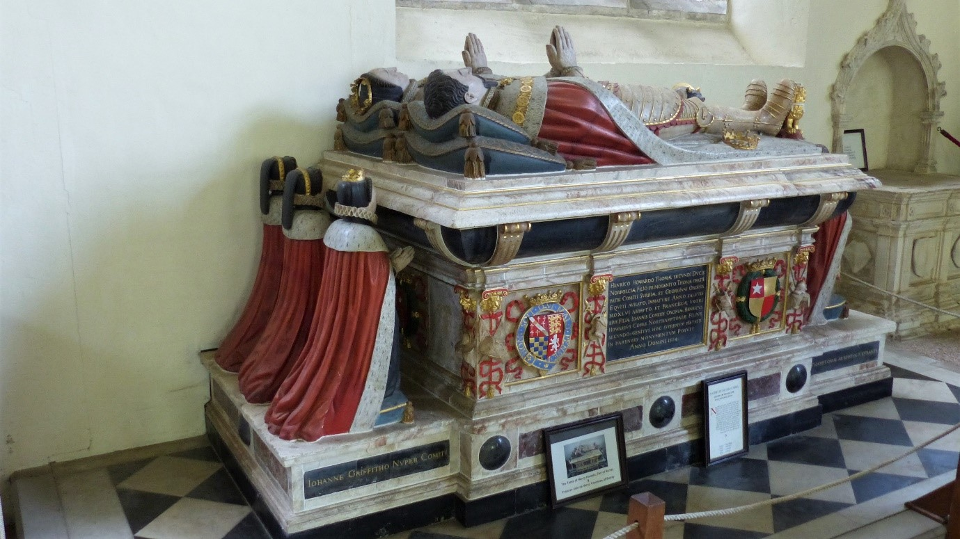 Tomb of Henry Howard and Frances de Vere
