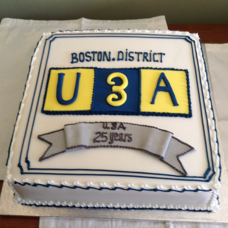 25th Year of Boston & District U3A