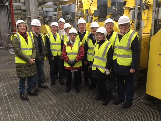 Members at Sleaford Energy Plant