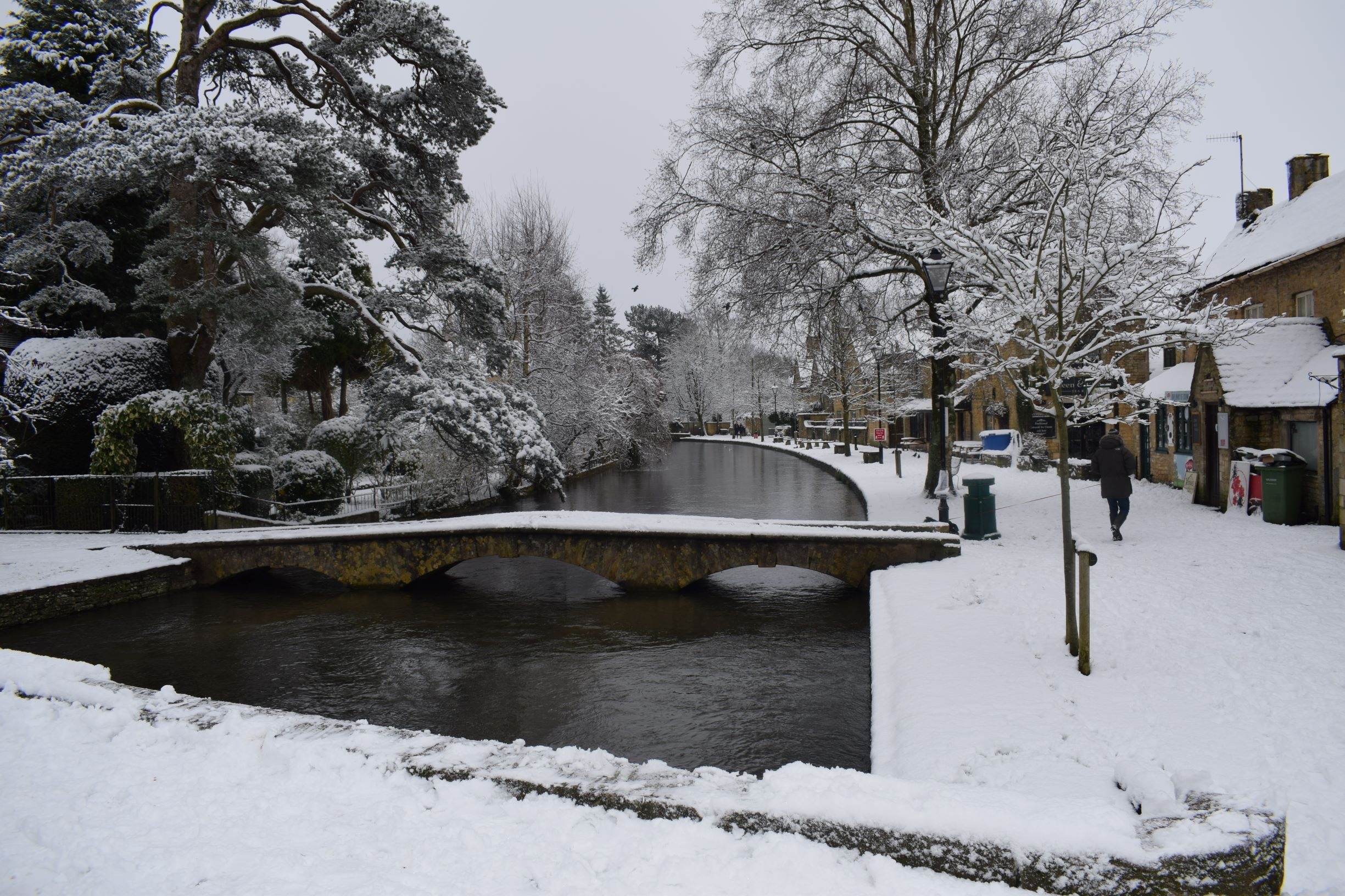 Bourton-on-the-Water, mid-January