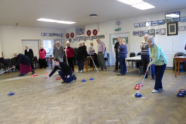 A game of Kurling
