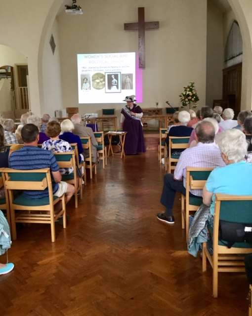 Suffragette at the Meeting on 18th July