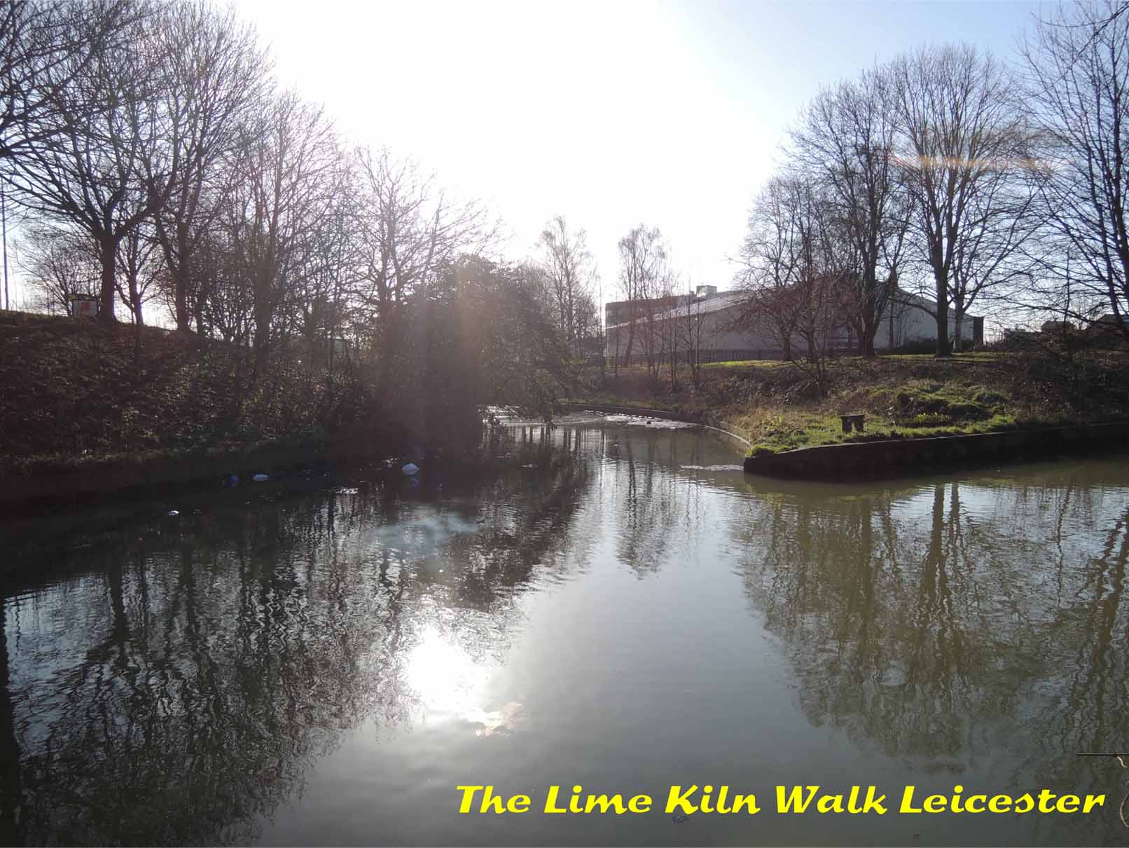 Beyond Lime Kiln Lock towards Belgrave