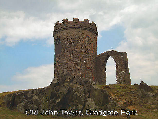 """Old John"" the tower Bradgate Park Leics"