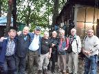 Members at the Fred Dibnah Heritage site