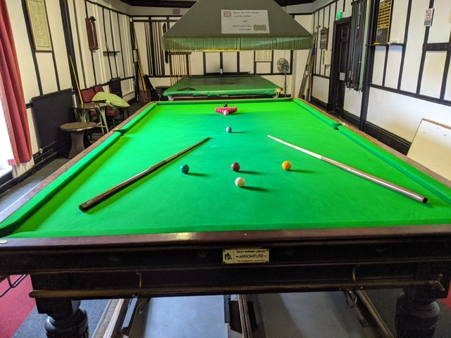 Snooker with the Braintree U3a